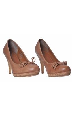 Pantofi din piele naturala Bata, marime 39