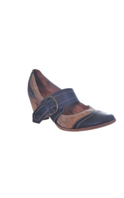 Pantofi din piele naturala Oto, marime 40