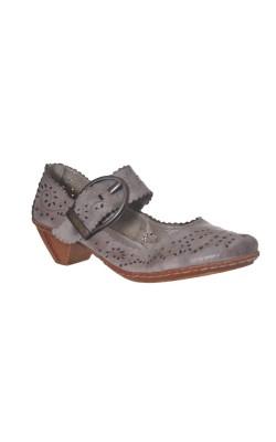 Pantofi din piele Rieker, marime 39