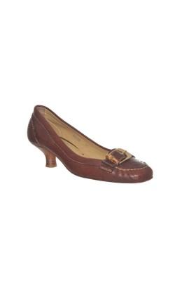 Pantofi din piele Stokton, talpa din piele, marime 36