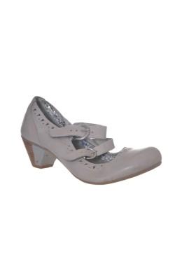 Pantofi din piele Tamaris, marime 38