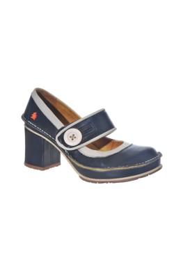 Pantofi din piele The Art Company, marime 38