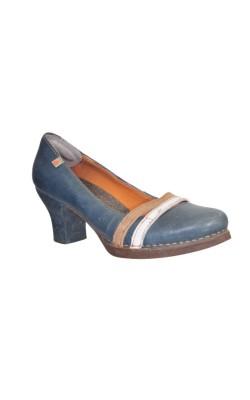 Pantofi din piele The Art Company, talpa cauciuc natural, marime 39