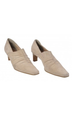 Pantofi DinSko, piele, marime 38