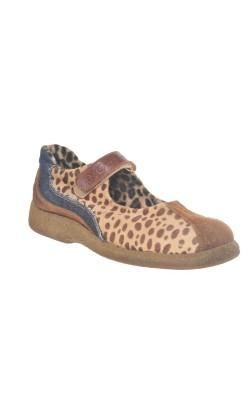 Pantofi Dolce&Gabbana, piele si blana naturala, marie 40