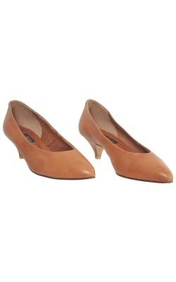 Pantofi piele naturala Ecco, marime 40