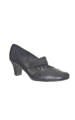 Pantofi eleganti din piele Jana, foarte comozi, marime 41