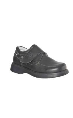 Pantofi scoala baieti Elin C., piele, marime 28