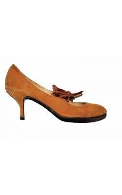 Pantofi Friis&Company, piele intoarsa, marime 40