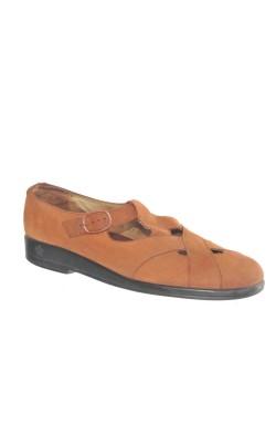 Pantofi Ganter, piele, marime 40.5