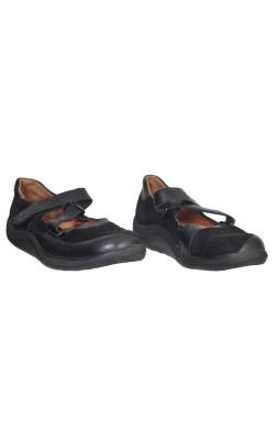 Pantofi Ganter, piele naturala, marime 39