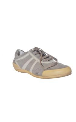 Pantofi Geox, piele si textil, marime 37