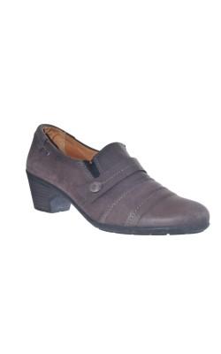 Pantofi GoSoft, piele naturala, marime 39