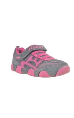 Pantofi gri cu roz Slobby, marime 27