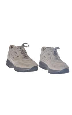 Pantofi Hogan, piele intoarsa, marime 37 calapod lat