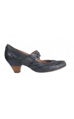 Pantofi Janet D., piele naturala, marime 36 calapod mediu