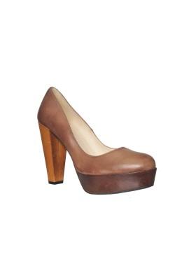 Pantofi Johannes W., piele naturala, marime 39