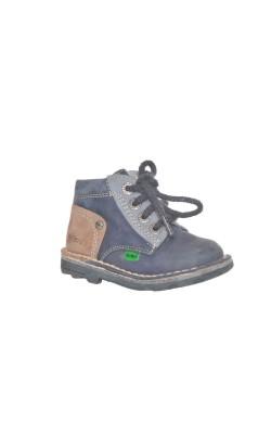 Pantofi copii Kickers, piele, marime 20