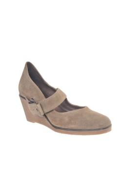 Pantofi Linea Zeta, piele, marime 39