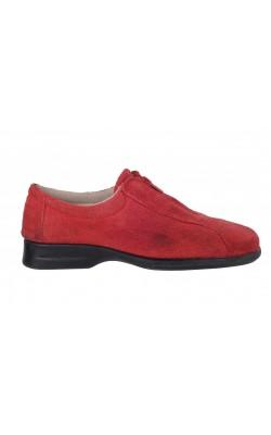 Pantofi Made in Spain, piele intoarsa, marime 38