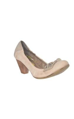 Pantofi Manas Design, piele naturala, marime 39