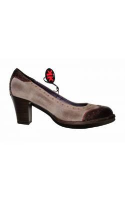 Pantofi Marco Tozzi, piele naturala, marime 41