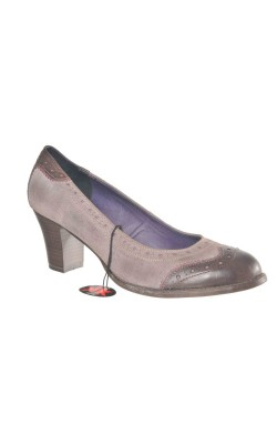 Pantofi marime 41 Marco Tozzi, piele naturala