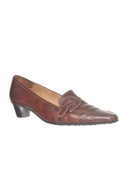 Pantofi maro cognac Gabor, piele naturala, marime 43