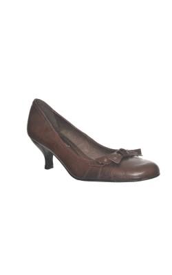 Pantofi maro din piele naturala Modabella, marime 37