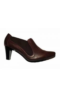 Pantofi maro Foot Glove Wider Fit, marime 40