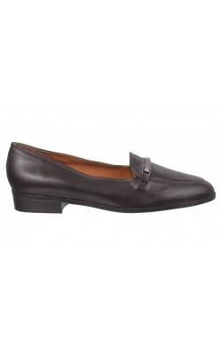 Pantofi maro inchis Etienne Aigner, piele, marime 37