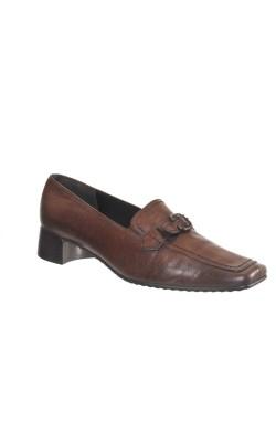 Pantofi maro Kennel und Schmenger, piele naturala, marime 39
