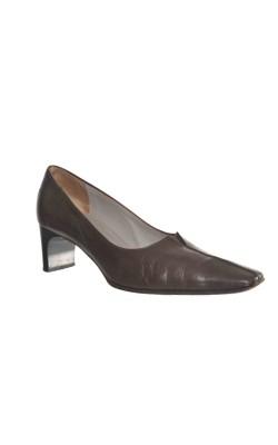 Pantofi maro Peter Kaiser, piele naturala, marime 37
