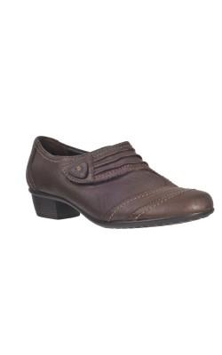 Pantofi maro piele naturala Medicus, marime 37.5