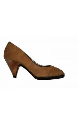 Pantofi Minozzi, piele naturala, marime 40