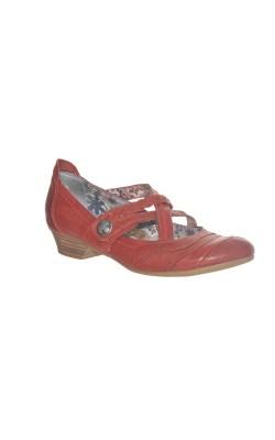 Pantofi Mjuus, piele naturala, marime 37