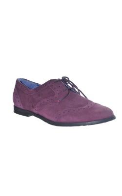 Pantofi Moshulu, piele intoarsa, marime 40