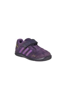 Pantofi mov Adidas Ortholite, piele, marime 23