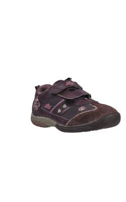 Pantofi mov Lico, piele intoarsa, marime 29