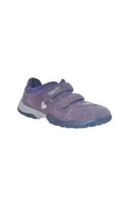 Pantofi mov Superfit, piele, marime 33