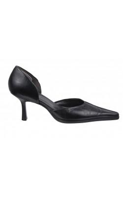 Pantofi negri Aldo, piele naturala, marime 37