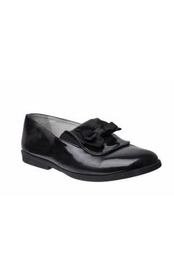 Pantofi negri de lac Junior League, marime 31