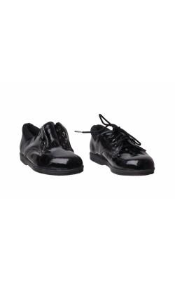 Pantofi negri de lac Sirkus, marime 22