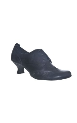 Pantofi negri din piele Janet D., marime 36