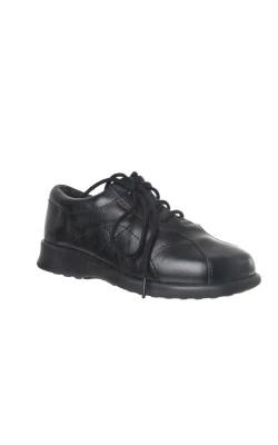 Pantofi negri piele Bopy, marime 27