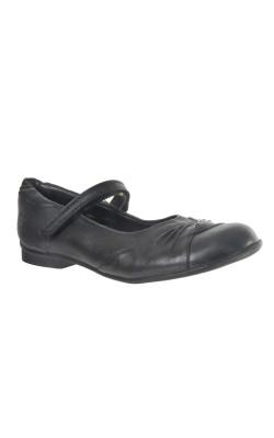 Pantofi negri piele Clarks, marime 30