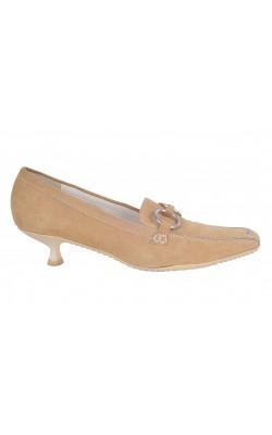 Pantofi Orient Express, piele, marime 37