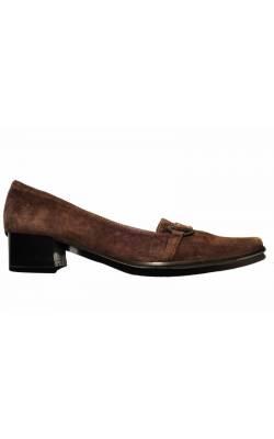 Pantofi Orient Express, piele, marime 38