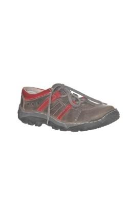 Pantofi outdoor Iguana Lider, piele, marime 38
