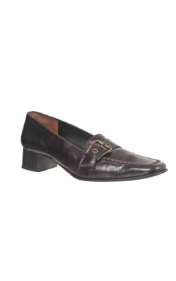 Pantofi Paul Green, piele maro inchis, marime 39